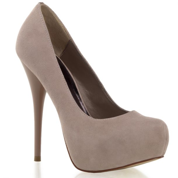 Plateau Pumps GORGEOUS-20 - Velour Blush