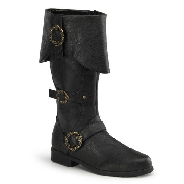 Piratenstiefel CARRIBEAN-299 - Anthrazit