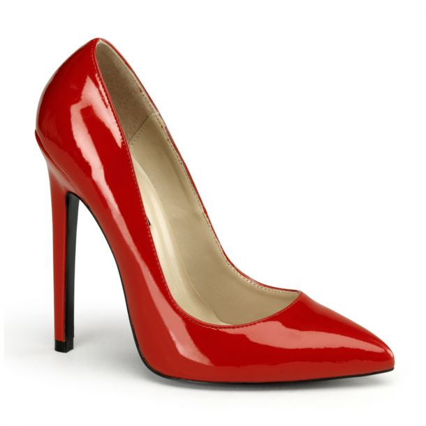 Stiletto High Heels SEXY-20 - Lack Rot