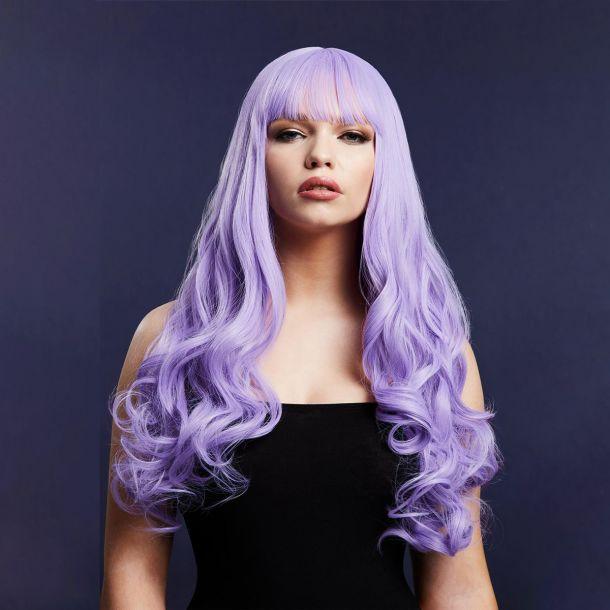 Langhaar Perücke GIGI - Violett*