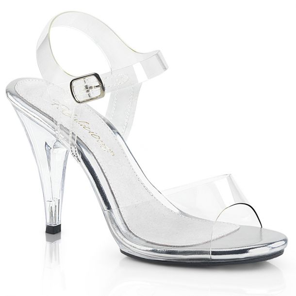 Sandalette CARESS-408 - Klar/Weiß*