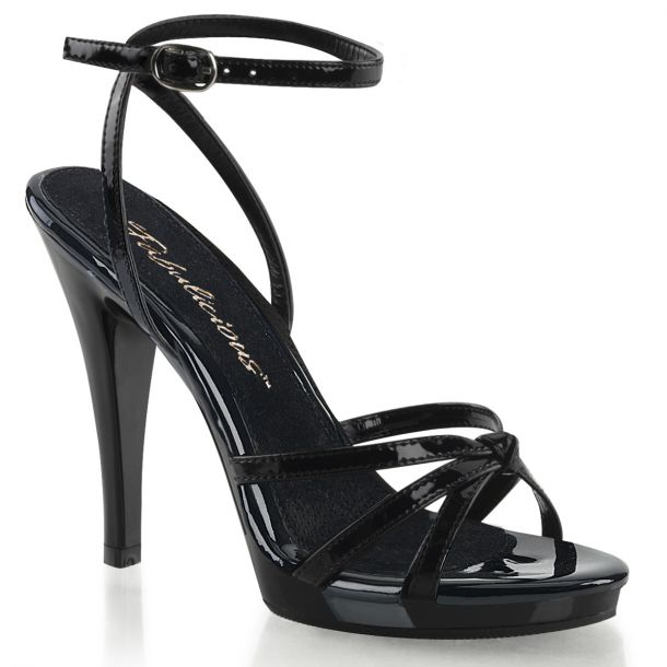 Sandalette FLAIR-436 - Lack Schwarz*