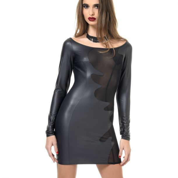 Wetlook Mini Kleid BRENDA*