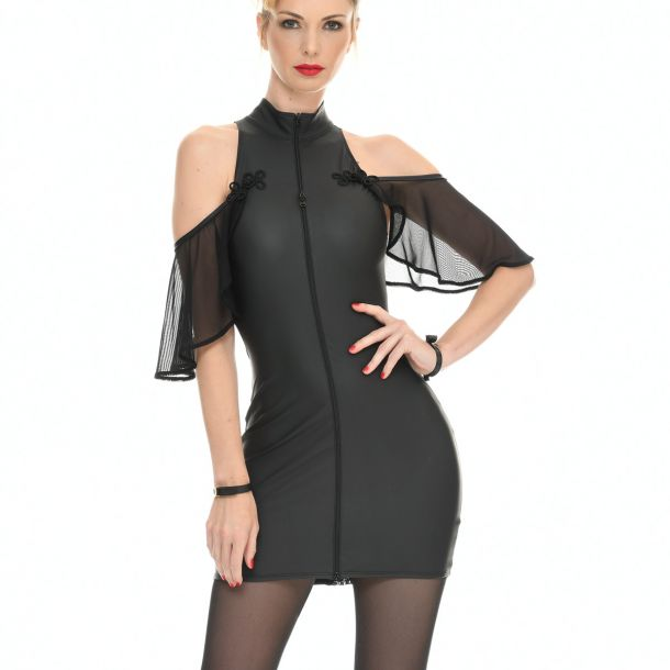 Neopren Mini Kleid - FLORENCE*