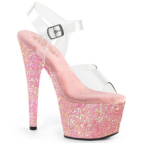 Plateau High Heels ADORE-708LG - Baby Pink