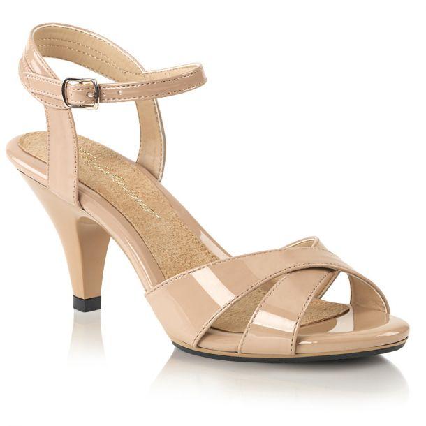 Sandalette BELLE-315 - Lack Nude*