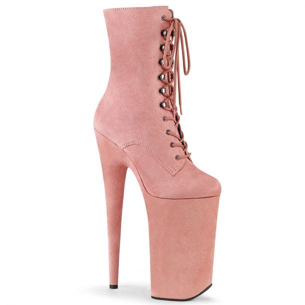 Extrem Plateau Heels BEYOND-1020FS - Baby Pink