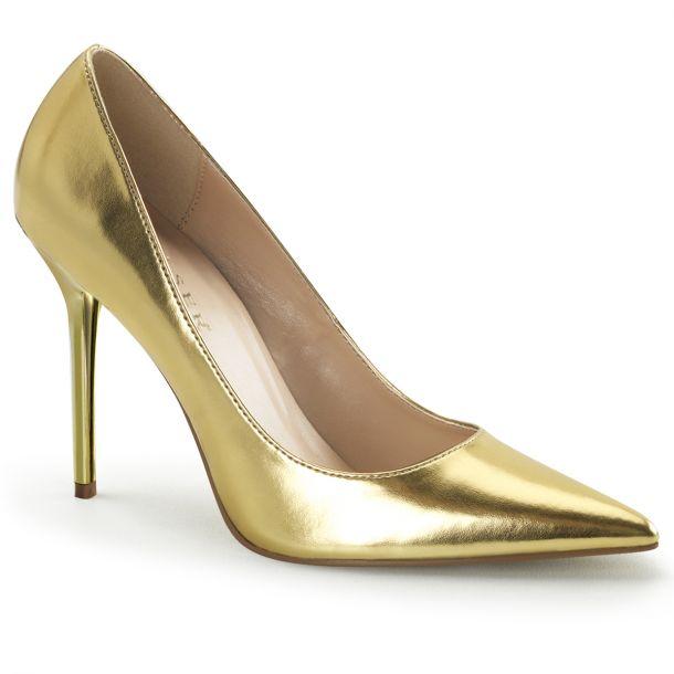 Stiletto Pumps CLASSIQUE-20 - PU Gold*