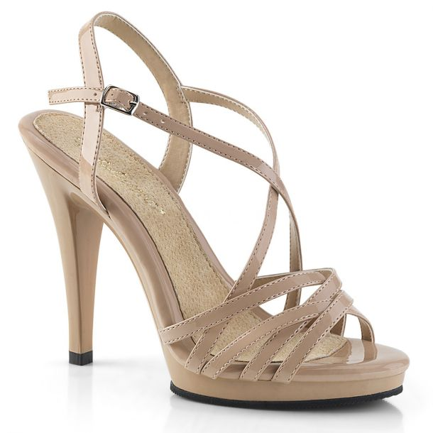 Sandalette FLAIR-413 - Lack Nude*