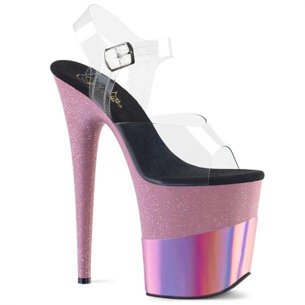 Extrem High Heels FLAMINGO-808-2HGM - Baby Pink*