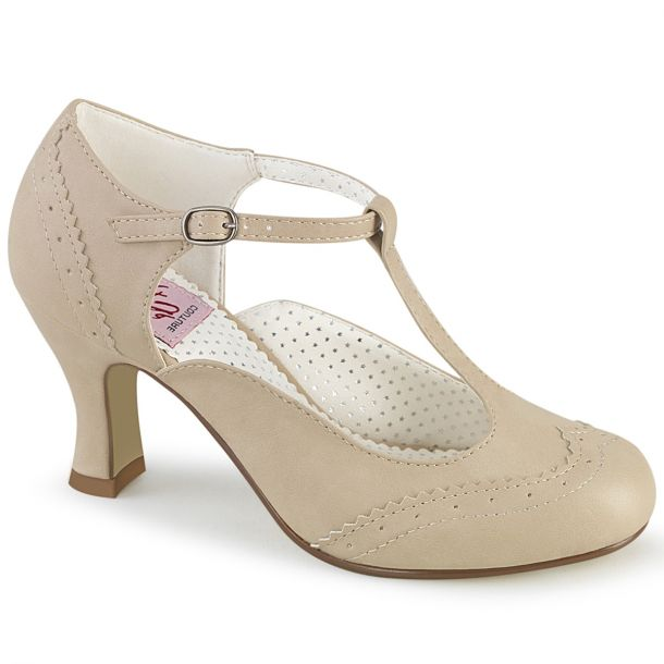 Pumps FLAPPER-26 - Creme*