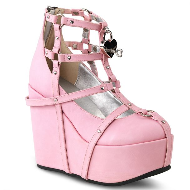 Plateau Wedges  POISON-25-2 - Pink
