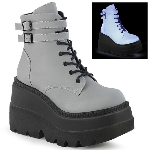 Plateau Ankle Boots SHAKER-52 - Grau*