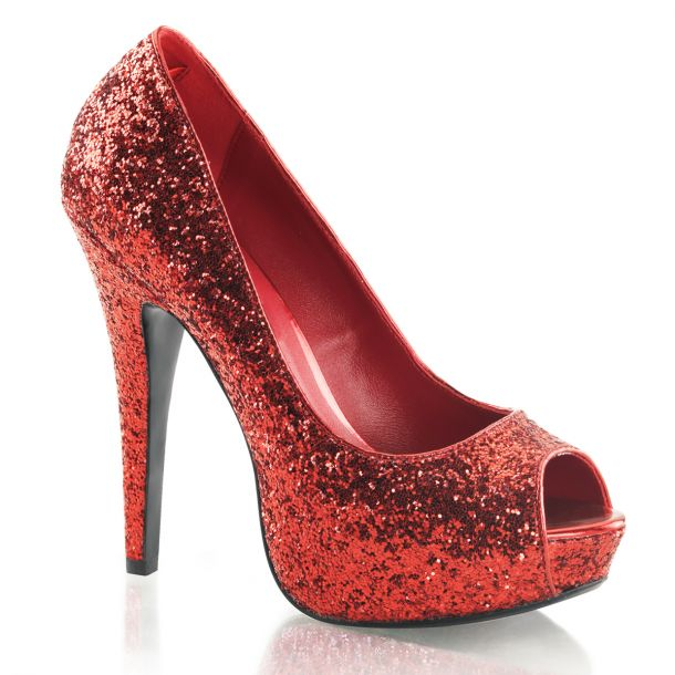 Peeptoes Pumps TWINKLE-18G - Rot*