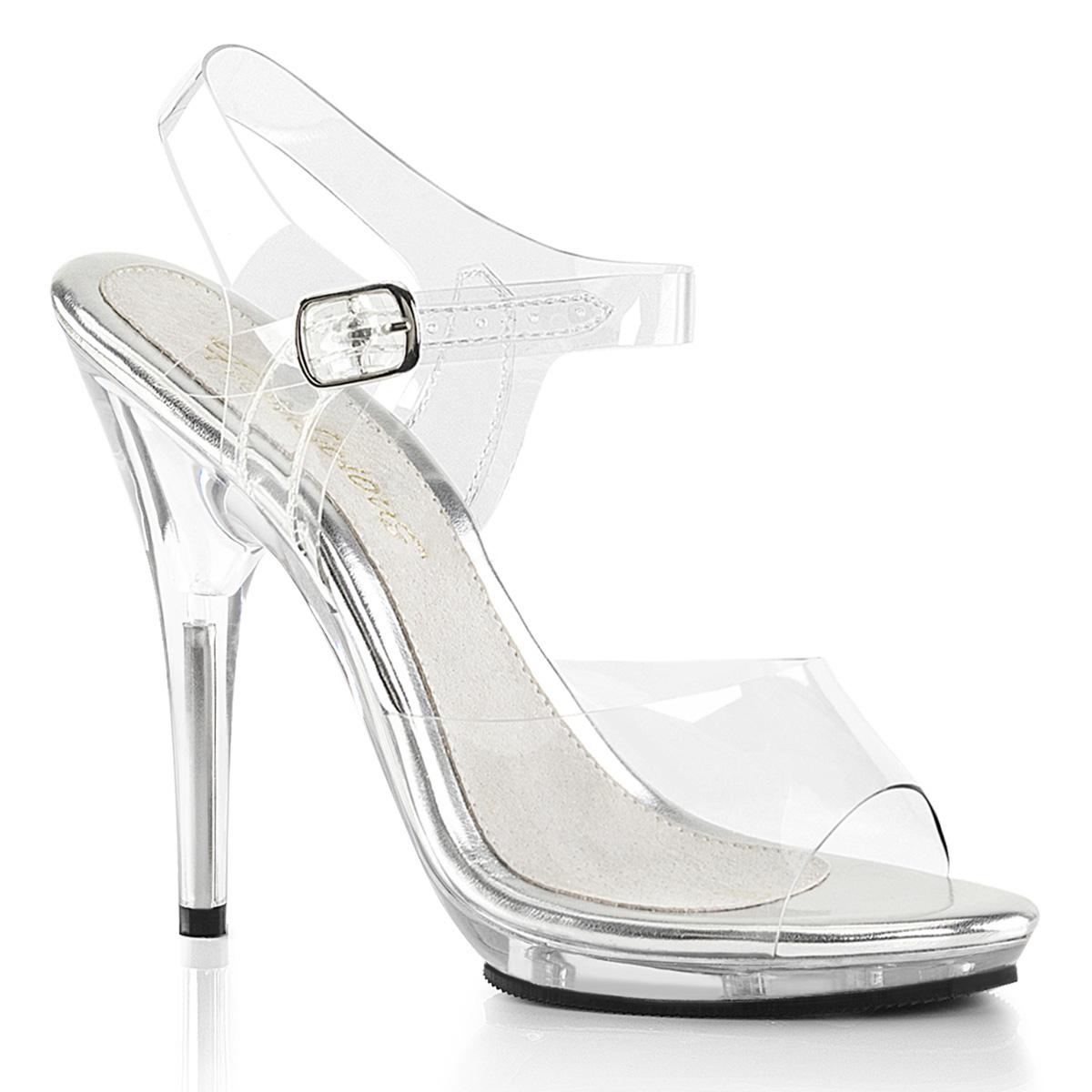 Sandalette POISE POISE Sandalette 508 Klar, Fabulicious 73b3e7
