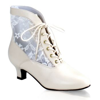 Stiefelette DAME-05 - Ivory