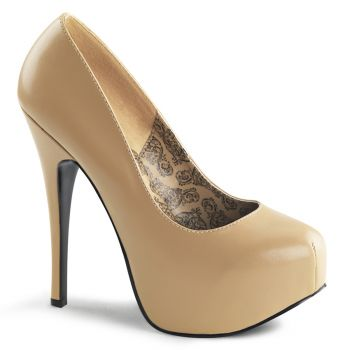 Plateau Pumps TEEZE-06 - PU Tan
