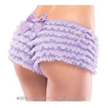 Rüschenhöschen Panty mit Schleife - Zartlila