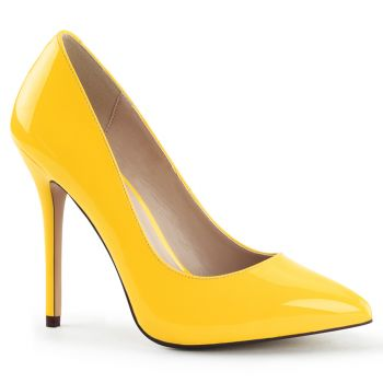 Pumps AMUSE-20 - Lack Neon Gelb