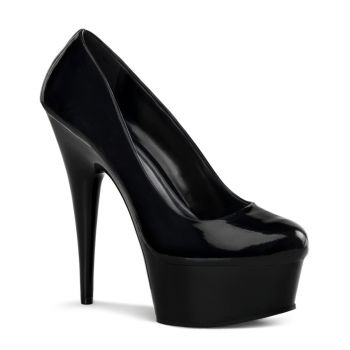Plateau Pumps DELIGHT-685 - Schwarz