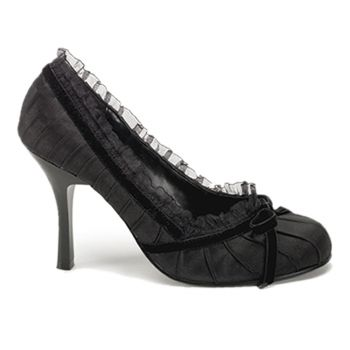 Pumps DAINTY-420 - Satin Schwarz