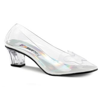 Transparente Pumps CRYSTAL-103