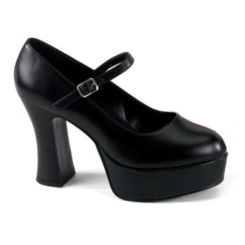 Retro Plateau Pumps MARYJANE-50 : PU SW*
