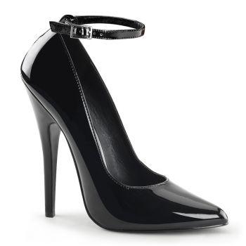 Extrem High Heels DOMINA-431 : Schwarz*