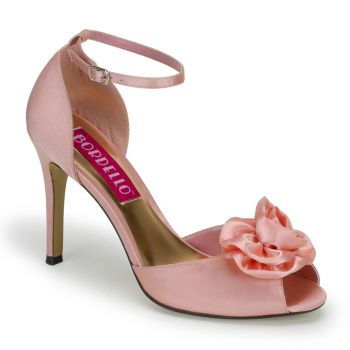 D'Orsay Peeptoes ROSA-02 - Baby Pink