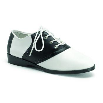 Saddle Shoes SADDLE-50 - Schwarz/Weiß*