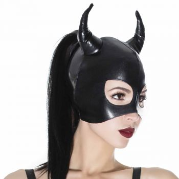 Wetlook Maske Devil - Schwarz*
