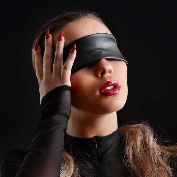 Wetlook Augenbinde - Schwarz