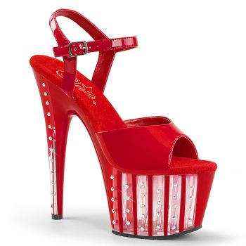 Plateau High Heels ADORE-709VLRS - Rot