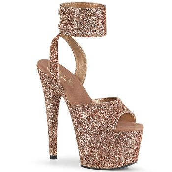 Plateau High Heels ADORE-791LG - Rose Gold