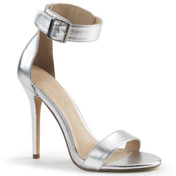Sandalette AMUSE-10 - PU Silber
