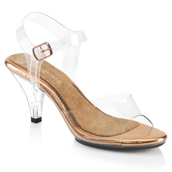 Sandalette BELLE-308 - Klar/Rose Gold