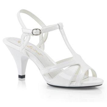 Sandalette BELLE-322 - Lack Weiß