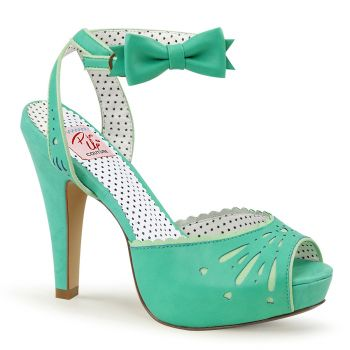 Peeptoe Sandalette BETTIE-01 - Mint*