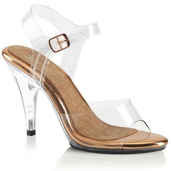Sandalette CARESS-408 - Klar/Rose Gold