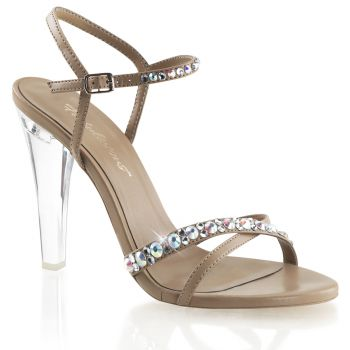 Sandalette CLEARLY-415 - PU Taupe