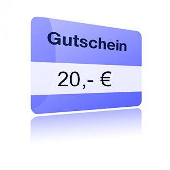 Crazy-Heels Gutschein zum drucken - 20,- Euro