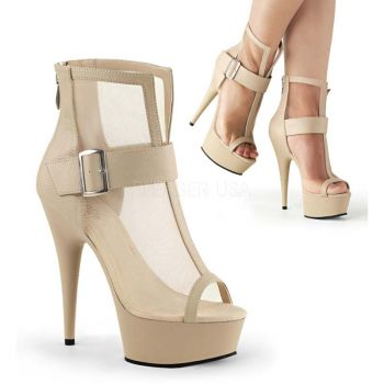 Plateau Ankle Boots DELIGHT-600-23 - Taupe