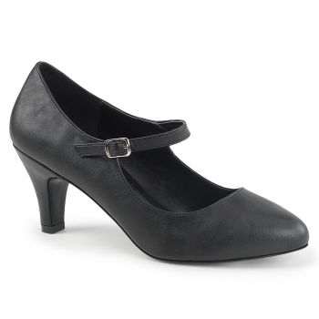 Mary Jane Pumps DIVINE-440 - PU Schwarz