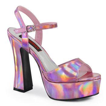 Plateau Sandalette DOLLY-09 - Pink Hologramm*