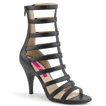 Sandalette DREAM-438 - PU Schwarz