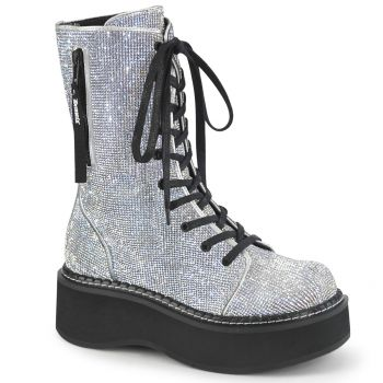 Plateaustiefel EMILY-362 - Silber