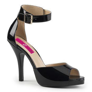 Sandalette EVE-02 - Lack Schwarz