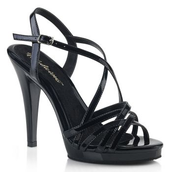 Sandalette FLAIR-413 - Lack Schwarz