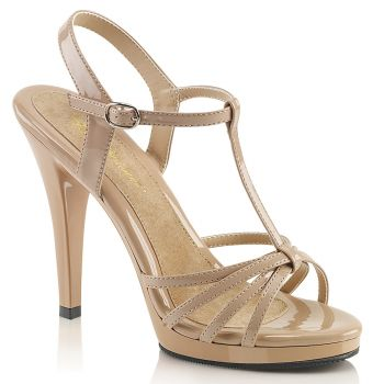 Sandalette FLAIR-420 - Lack Nude*