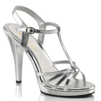 Sandalette FLAIR-420 - Silber Metallic